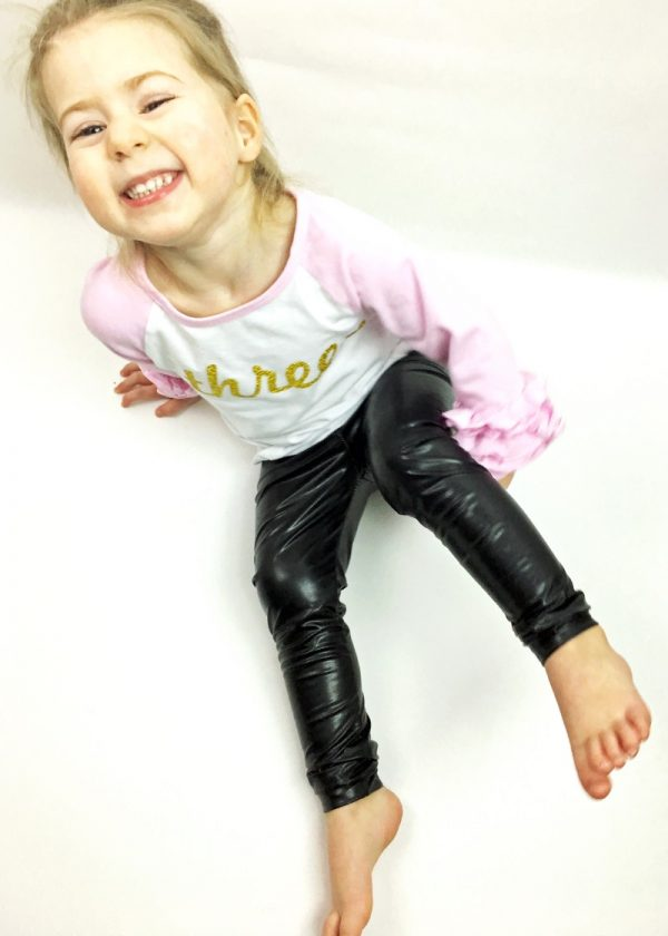 Faux Leather Leggings For Baby Or Toddler The Speckled
